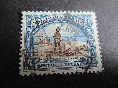 One Used Trindad & Tobago Pic. Stamp. Lot 577.