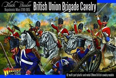 British Union Brigade Cavalry  - Warlord - Black Powder -