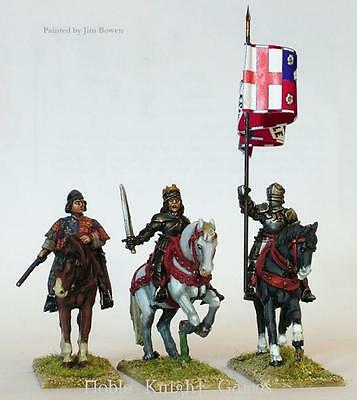 Perry Historical Mini 28mm Yorkist Mounted High Command Pack MINT