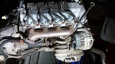 Mercedes w220 4.3L Complete V8 Engine with Gearbox M113 E43 S430