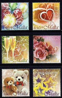 Malta 2007 Occasions Greetings Stamps Complete Set SG 1557 - 62 Unmounted Mint