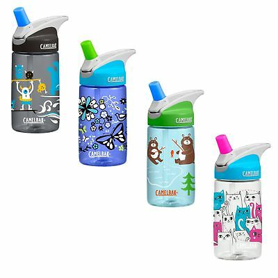 Camelbak Kids Back to School 2017 - 400ml/12oz spill proof Eddy water bottle