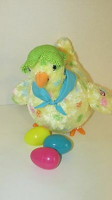 Hallmark Squawkin' Egg-Droppin' Mama Hen Sound Motion sings Whoops animated