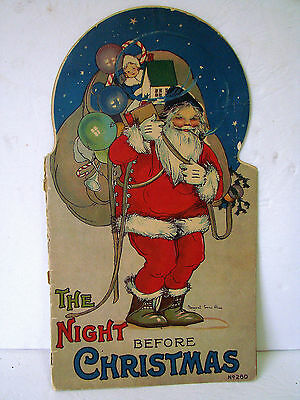 1917 THE NIGHT BEFORE CHRISTMAS Childrens Story Book MARGARET EVANS PRICE