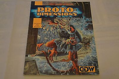 Proto-Dimensions sourcebook for Dark Conspiracy GDW RPG Game Designers Workshop