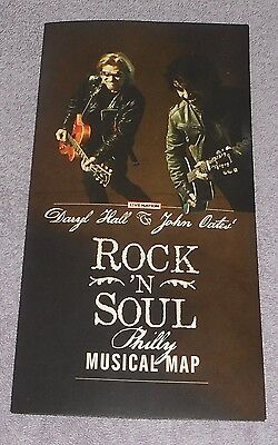 Daryl Hall & John Oates HoagieNation Rock n Soul Philly Musical Map