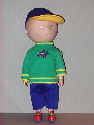 """Caillou 12"""" Poseable Vinyl Doll Irwin Cinar Character"""