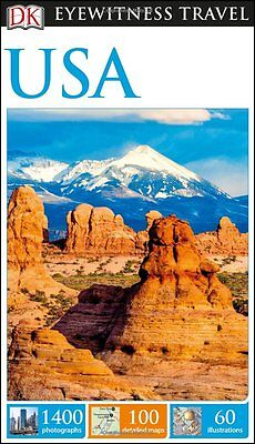 DK Eyewitness Travel Guide USA (Eyewitness Travel Guides), DK, New Book