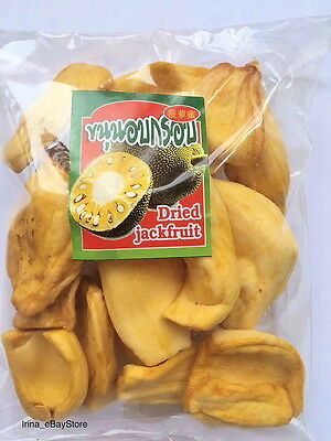 Freeze Dried Jackfruit Thai Fruit Crispy Snack SUGAR FREE HALAL KOSHER 100-1000g
