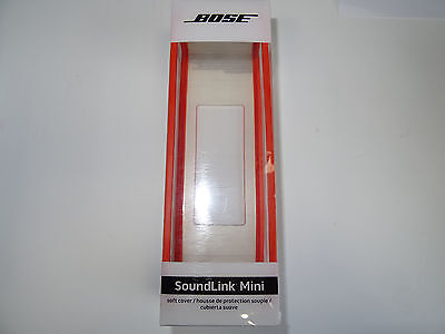 NEW Genuine BOSE SOUNDLINK MINI Soft Cover / Case (Orange) - Original Soundlink