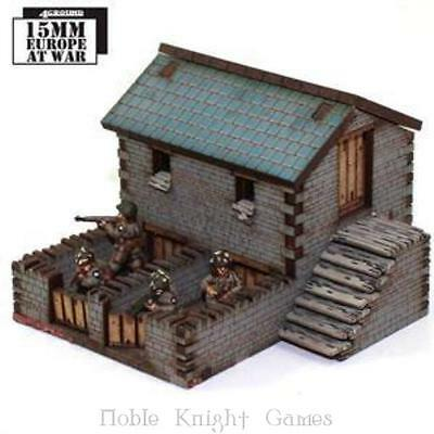 4Ground 15mm Europe At War Pig Sty (Pre-Painted) Pack MINT