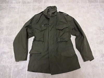 Vintage U.s Army After Vietnam M65 Jacket 1980 Great Cond Not Much Used Xs/r