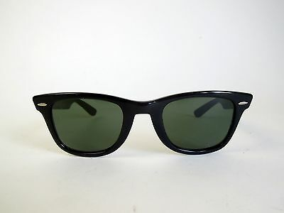 VINTAGE 80s RAY BAN WAYFARER 5024 B+L MADE IN USA SUNGLASSES BLACK USA RETRO