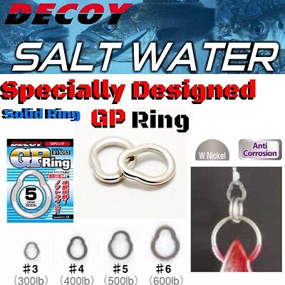 Decoy Saltwater Game Seamless Solid Ring Gp Ring R-6