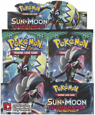 Pokemon Sun and Moon Guardians Rising Booster pack x1