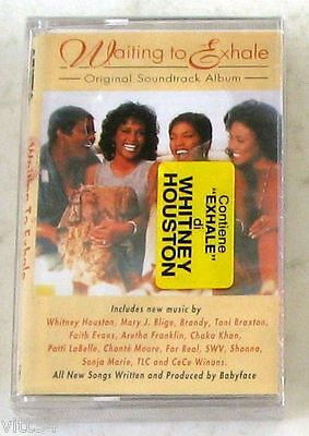 SOUNDTRACK OST - WAITING TO EXHALE - Cassette Tape MC K7 SEALED
