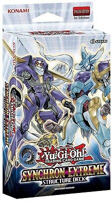 YuGiOh Synchron Extreme Structure Deck - 1st Edition New Sealed