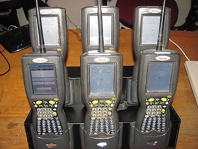 """(6) Itron FC200 FC-2 Field Collectors with IX100XMDCC Docking Station grade """"B"""""""