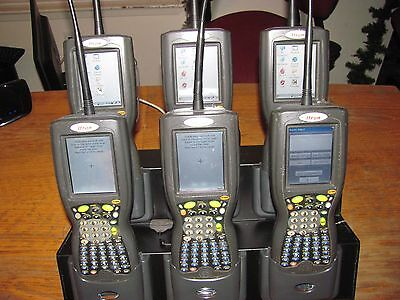 (6) Itron FC200 FC-2 Field Collectors with IX100XMDCC Docking Station