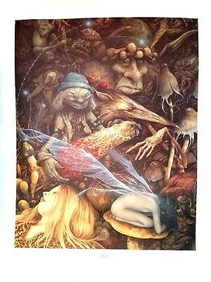 Goblins by Brian Froud  **RARE** s/n