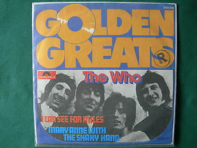 """The Who -""""i Can See For Miles"""" 7"""" Rare Germany Pressing 1976 Mod Mint-"""