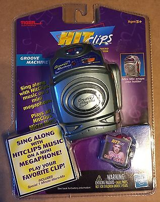 Tiger electronics Hit Clips Groove Machine Player Mini Megaphone Pink most girls