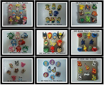 Frig Magnets Lalaloopsy Pokemon Super Heros Magnet Little Pony Frozen Big Bird