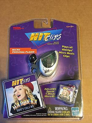 Tiger electronics Hit Clips MICRO PERSONAL PLAYER MADONNA NOC