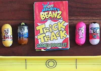 Mighty Beanz Trick Track Set. Vgc. Uk Dispatch