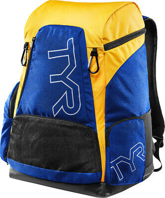TYR Alliance Team® Backpack - NEW 2017 - 45L - Royal/Gold