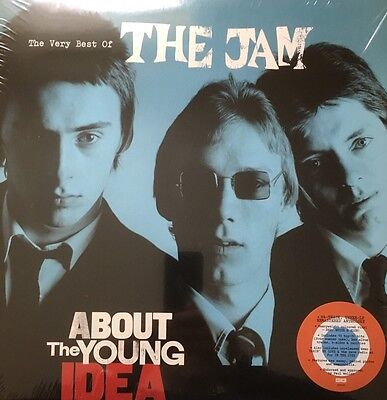 The Jam - About The Young Idea (3 Disc Red/White/Blue  ) Vinyl Lp Record, Sealed