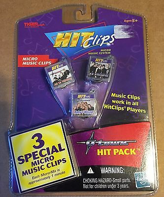 Tiger electronics Hit Clips MICRO MUSIC CLIPS NOC OTOWN 3 CLIPS