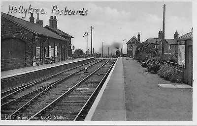Railway Station interior Eastville and New Leake Station  Lincolnshire