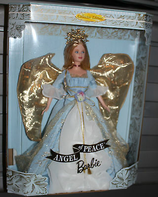 Angel of Peace Barbie~1999~NRFB~Collector Edition~Timeless Sentiments Collection