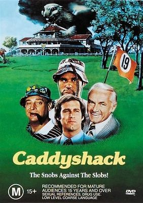 Caddyshack (DVD, 1999) Bill Murray Chevy Chase New Sealed Free Postage