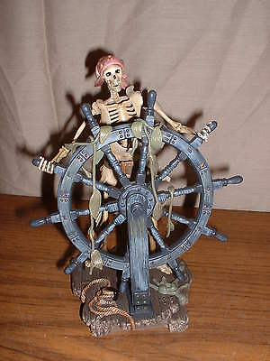 Wdcc Disney Pirates Of The Caribbean Helmsman It Be Too Late To Alter Course New