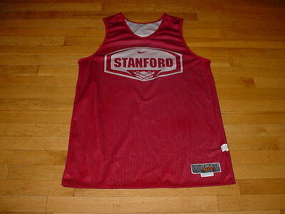 Authentic Nike Stanford Basketball Team Issue Practice Jersey Reversible XXL +2