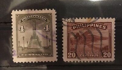 1947 Philippines Stamps SG629 .... Used (2)