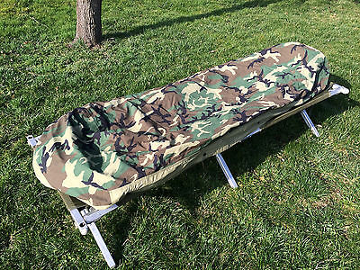 US Army Bivy Cover Modular Sleeping Bag Gore Tex Woodland Schlafsackhülle