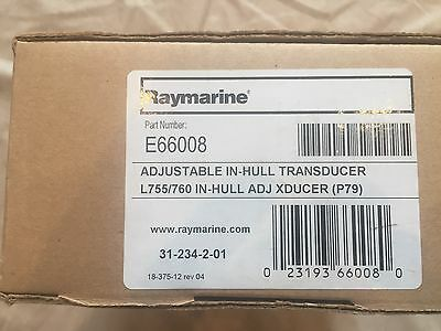 Raymarine P79 in -Hull Adjustable-Angle Transduser