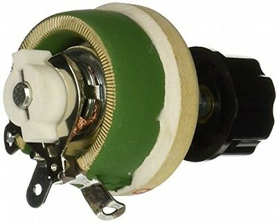 Single Turn Resistor 25W 30 Ohm Adjustable Taper Ceramic Disk Rheostat