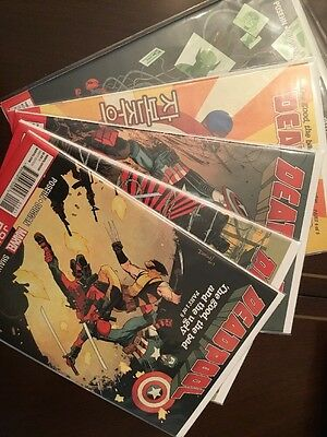 Deadpool The Good, The Bad And The Ugly #1-5 NM Great Set
