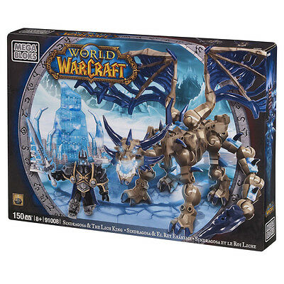 Mega Bloks World of Warcraft Sindragosa and The Lich King 91008 - NEW
