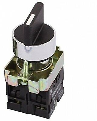 Sourcingmap 3 Position Rotary Select Selector Switch Self-locking 2 NO