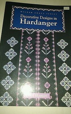 Decorative Designs in hardanger chart book RRP £12.95