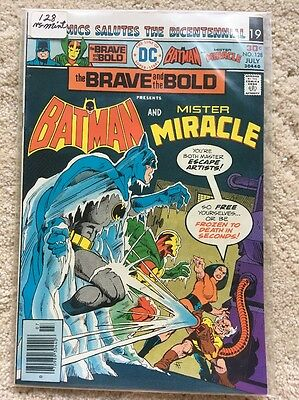 DC Comics The BRAVE And The BOLD #128 BATMAN And Mister Miracle  NM-