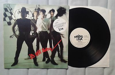 The Birthday Party Its still living Live LP 4AD  Nick Cave