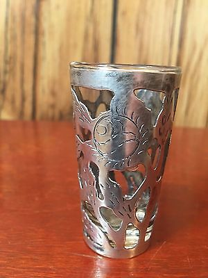 Sterling Silver Hecho En Mexico Shot Glass