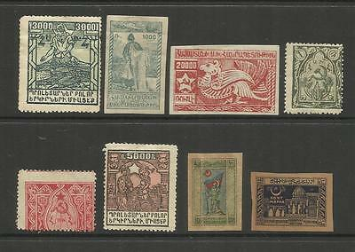 ARMENIA & AZERBAIJAN ~ 1920s INDEPENDENCE ISSUES (SMALL GROUP)