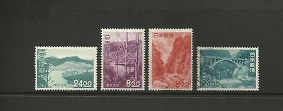 Japan 1951 ~  National Parks Tourist Issues